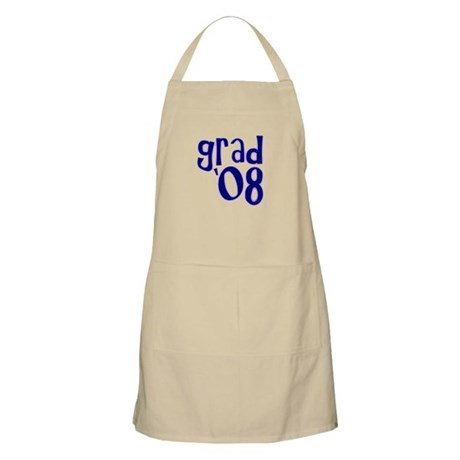 Grad 08 - Purple - BBQ Apron