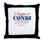 Support Condi Throw Pillow
