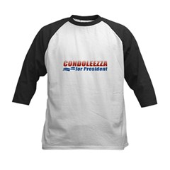 Condoleezza for President Kids Baseball Jersey