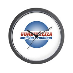 Condoleezza for President Wall Clock