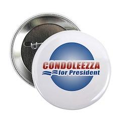 """Condoleezza for President 2.25"""" Button (100 pack)"""