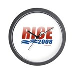 Rice 2008 Wall Clock