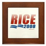 Rice 2008 Framed Tile