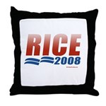 Rice 2008 Throw Pillow