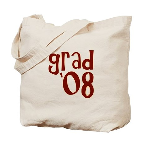 Grad 08 - Brown - Tote Bag