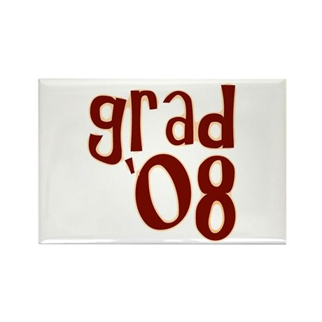 Grad 08 - Brown - Rectangle Magnet (10 pack)