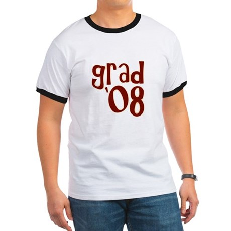 Grad 08 - Brown - Ringer T