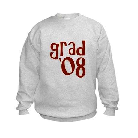 Grad 08 - Brown - Kids Sweatshirt
