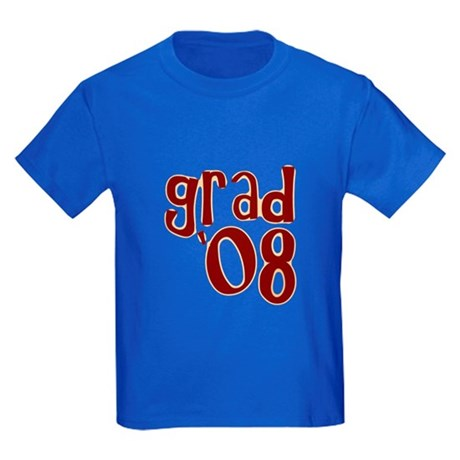 Grad 08 - Brown - Kids Dark T-Shirt