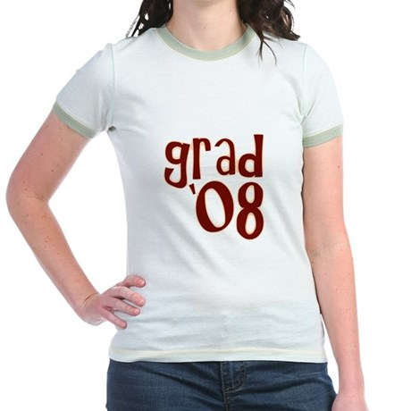 Grad 08 - Brown - Jr. Ringer T-Shirt