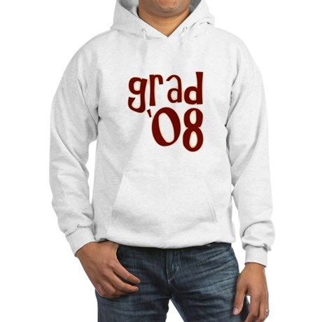 Grad 08 - Brown - Hooded Sweatshirt