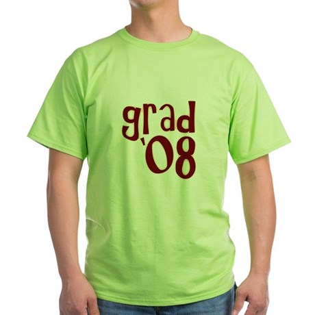 Grad 08 - Brown - Green T-Shirt