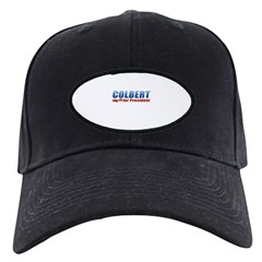 Colbert for President Black Cap