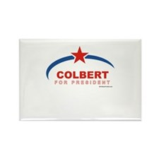Colbert for President Rectangle Magnet