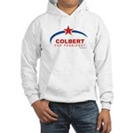 Colbert for President Hooded Sweatshirt