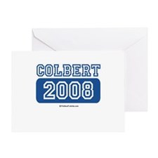 Colbert 2008 Greeting Card