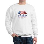 Colbert for President Sweatshirt