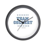 Team Colbert Wall Clock