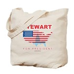 Stewart for President Tote Bag