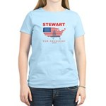 Stewart for President Women's Light T-Shirt