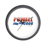 2008 Election Candidates Wall Clock
