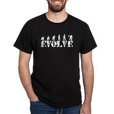 Bowling Caveman Bowlers T-Shirt
