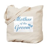 Mother of Groom Blue Tote Bag