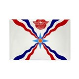 Flag of Assyria Rectangle Magnet