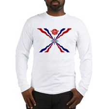 Flag of Assyria Long Sleeve T-Shirt