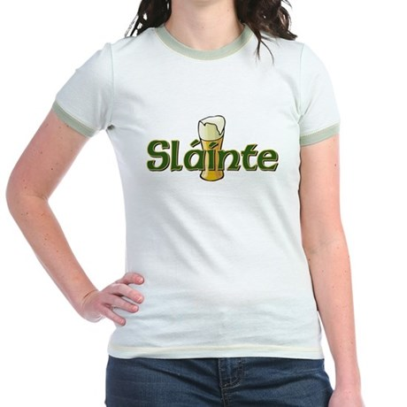 Slainte Jr. Ringer T-Shirt
