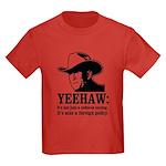yeehaw Kids Dark T-Shirt