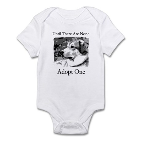 Until There Are None...Adopt Infant Bodysuit