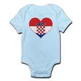 Heart of Croatia Onesie