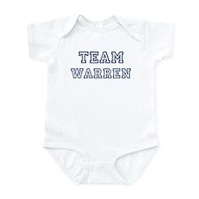Team Warren Onesie