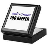 Worlds Greatest ZOO KEEPER Keepsake Box