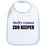 Worlds Greatest ZOO KEEPER Bib