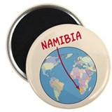 Namibia Map Magnet