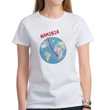 Namibia Map Tee