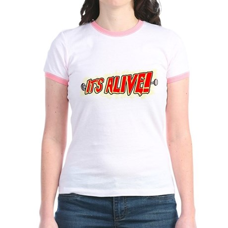 It's Alive! Jr Ringer T-Shirt