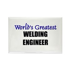 Worlds Greatest WELDING ENGINEER Rectangle Magnet