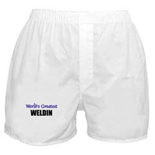 Worlds Greatest WELDIN Boxer Shorts