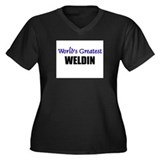 Worlds Greatest WELDIN Women's Plus Size V-Neck Da