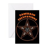 Samhain Pentacle Greeting Cards (Pk of 10)