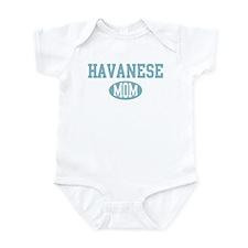 Havanese mom Infant Bodysuit
