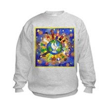 World Children Peace Sweatshirt
