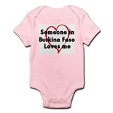 Loves me: Burkina Faso Onesie