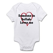 Loves me: Buffalo Infant Bodysuit
