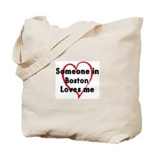 Loves me: Boston Tote Bag