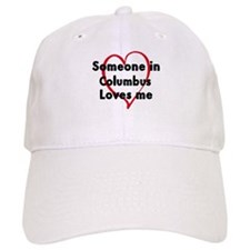 Loves me: Columbus Baseball Cap