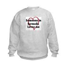 Loves me: Bermuda Sweatshirt